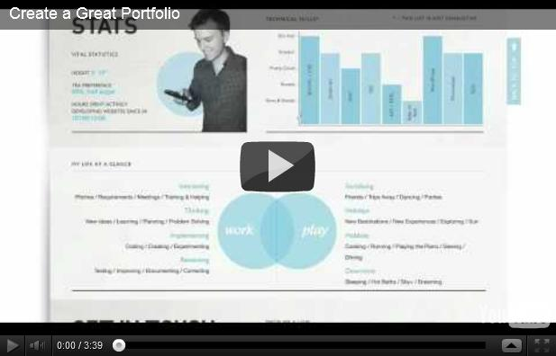video - great portfolio