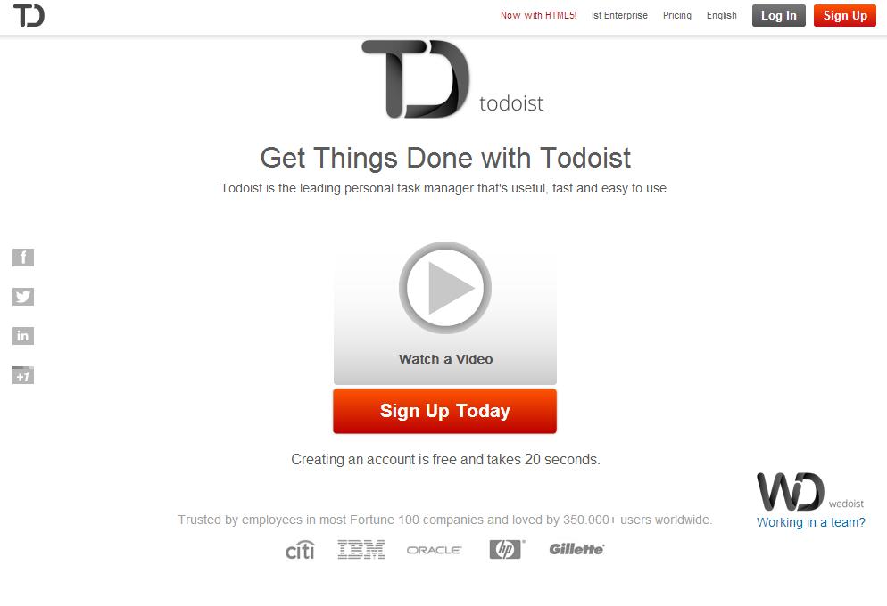 todoist project templates - sekretaris visual pribadi buat freelancers pendidikan
